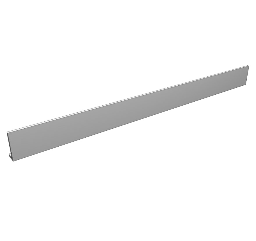 Retail Shelving Accessories Solid Wood Canopy Fascia Lozier