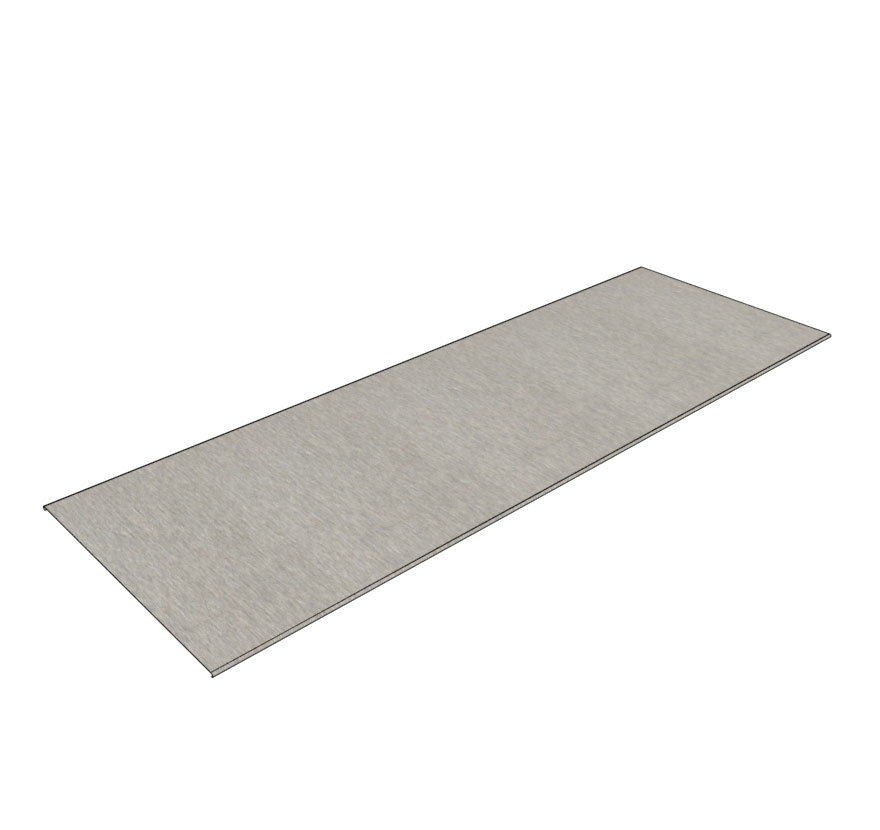 Stainless Steel Shelf/Deck Covers