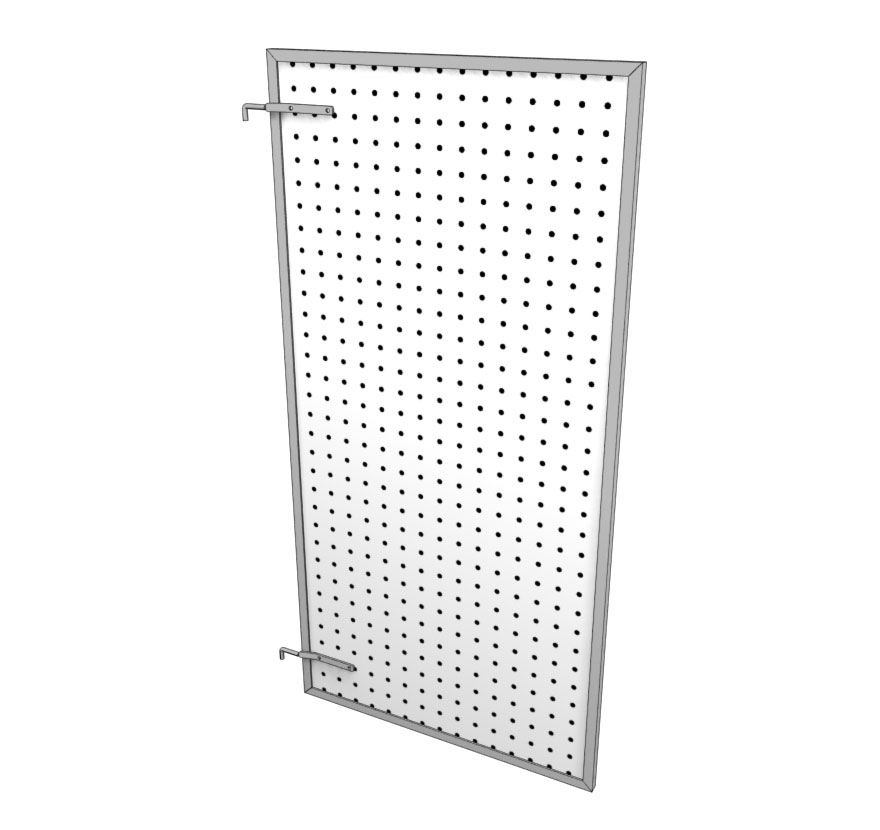Swinging Display Panel
