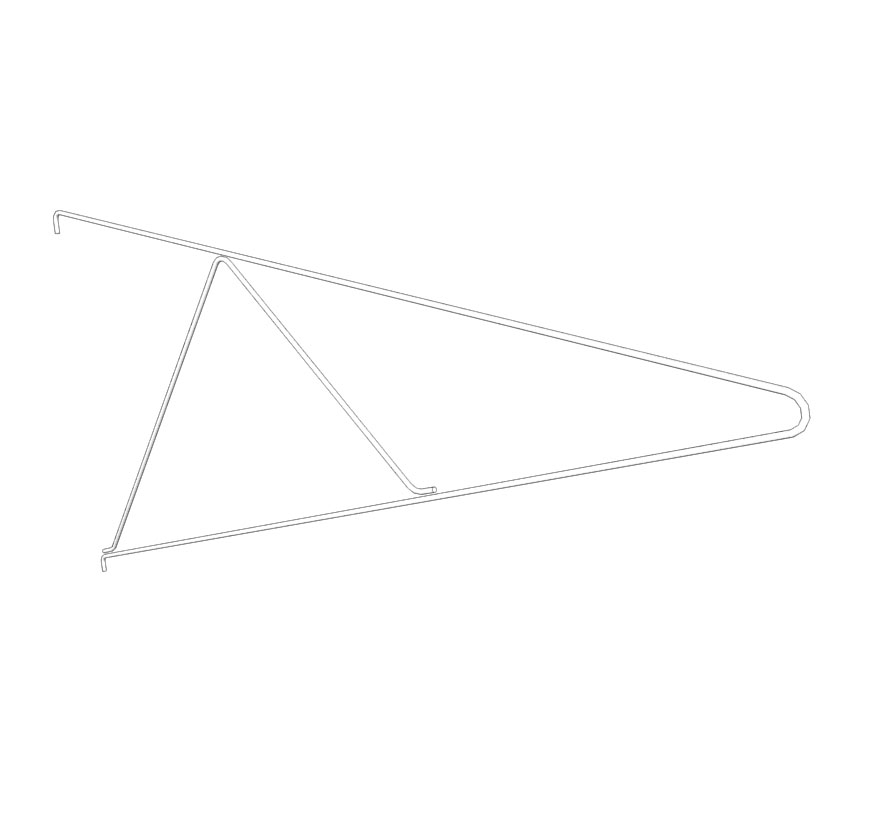 Swinging Sleeping Bag Display Extra Hangers