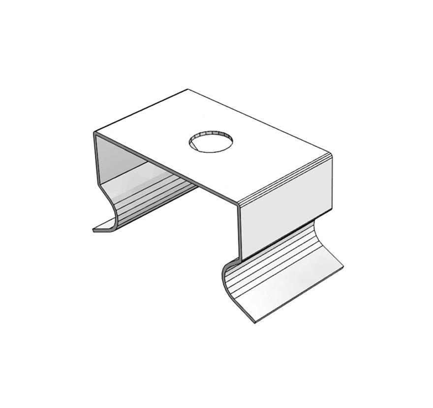 T5 Wood Shelf Clip