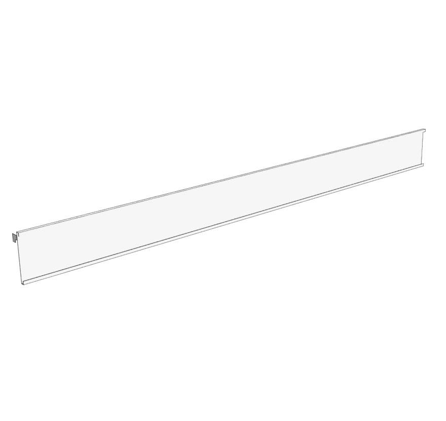 Retail Shelving Accessories Uprite Mount Sign Holder Lozier