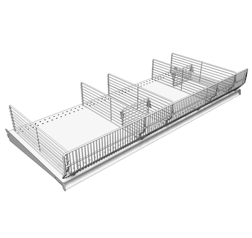 Contemporary Wire Shelving Accessories Image Wiring