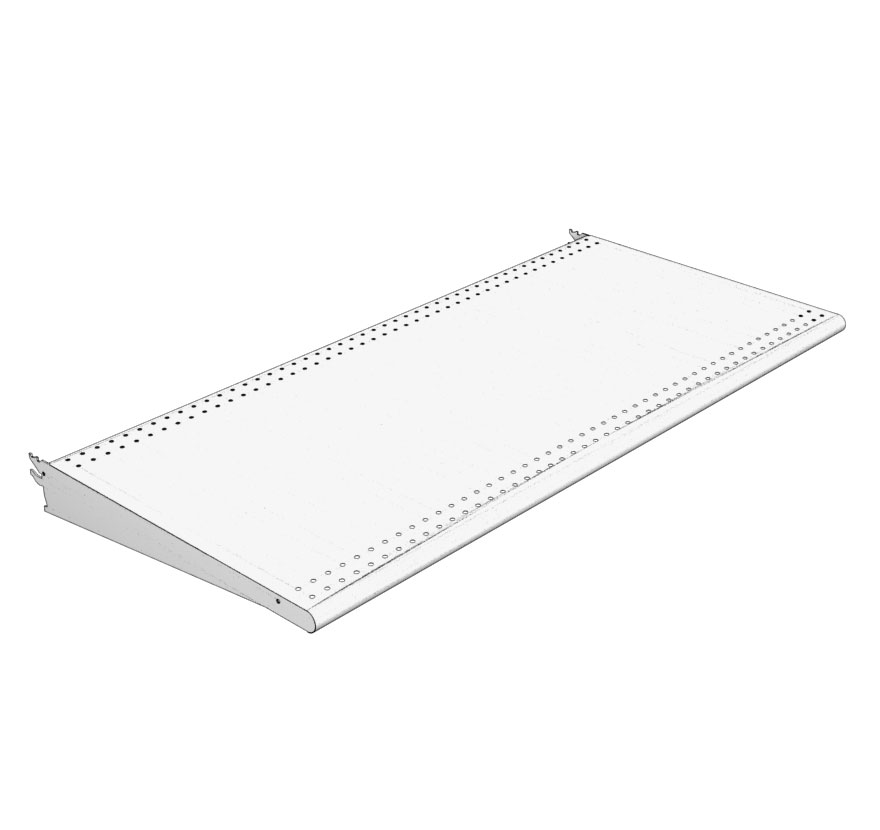 Bullnose Shelf Lozier Retail Shelving