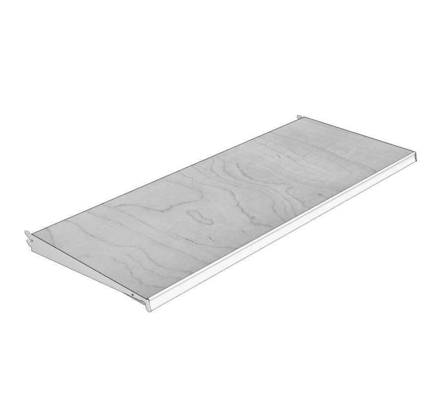 Retail Shelving Covered Shelves Lozier