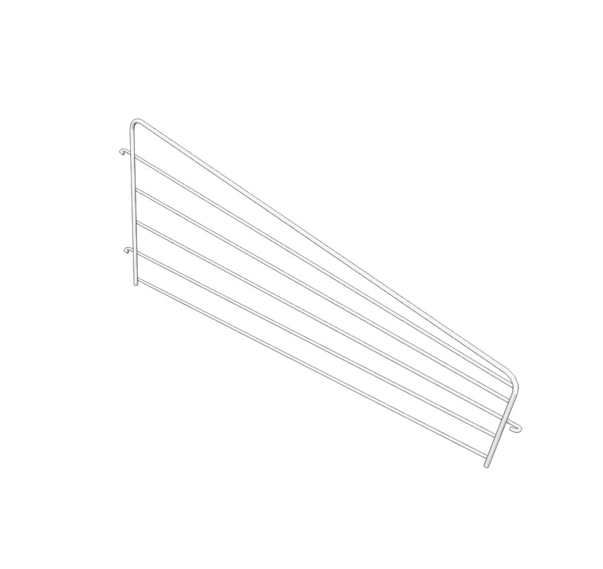 Retail Shelving Endless-Wire-Basket-Divider Lozier