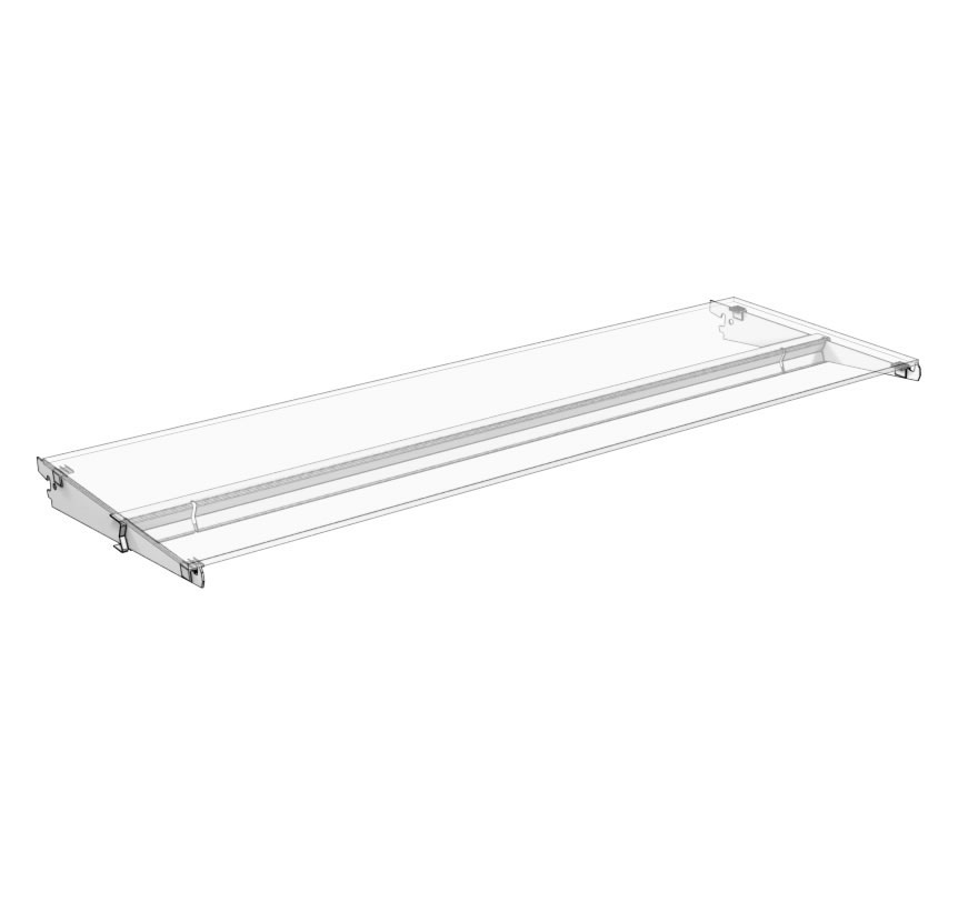 Glass Shelf Assembly