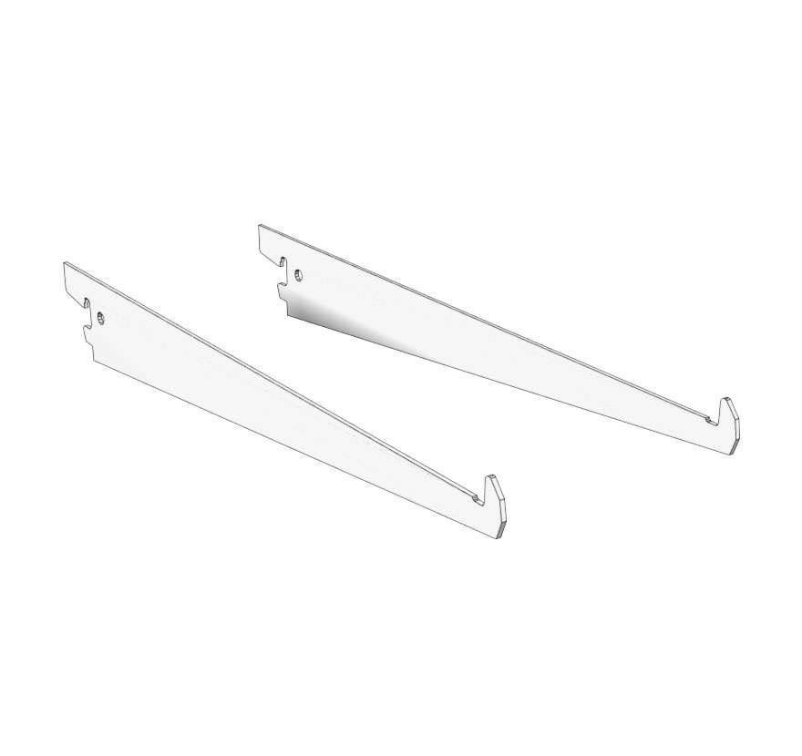 Glass Shelf Brackets Lozier Retail Shelving