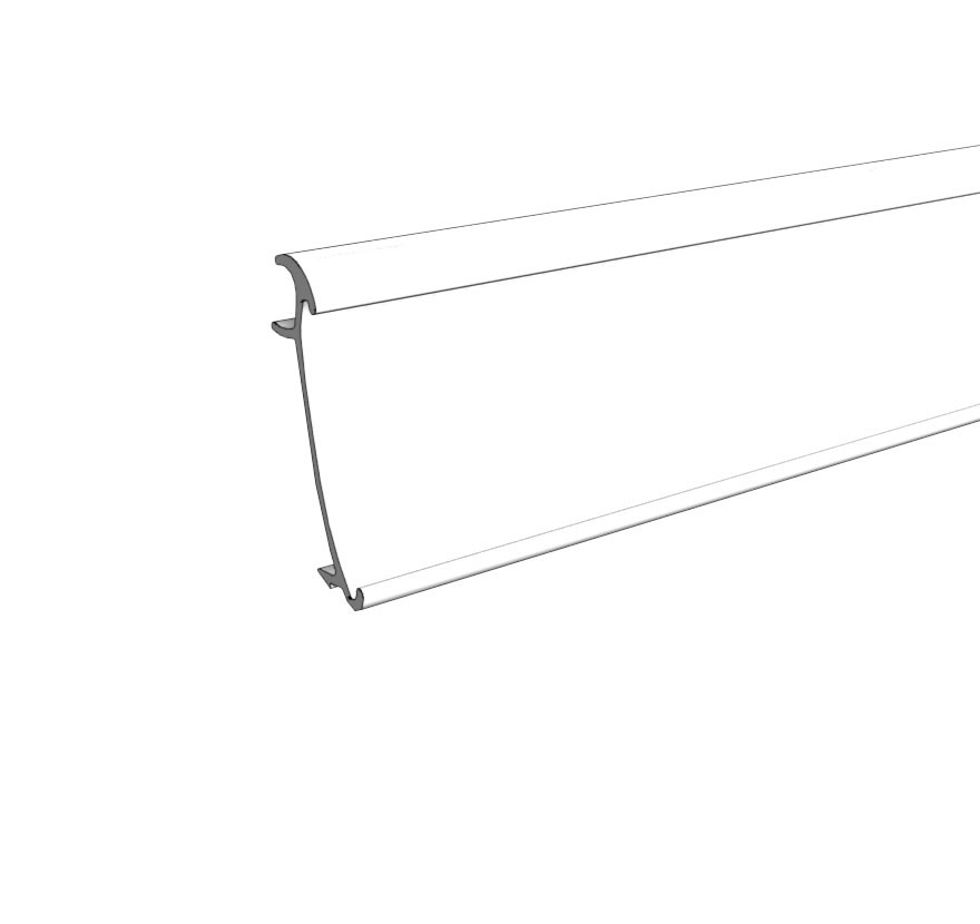 Retail Shelving MR1-Tag-Molding Lozier