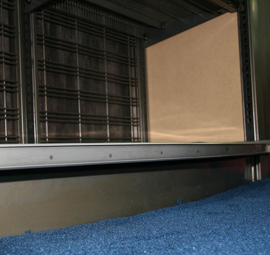 Radius Deck Close Up Lozier Retail Shelving