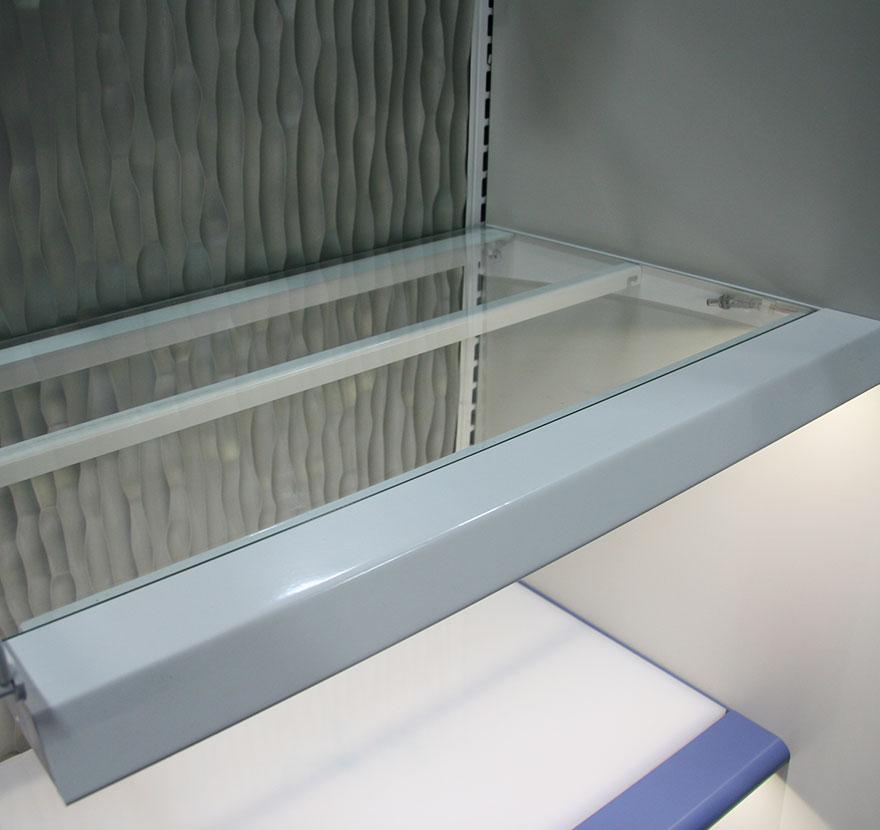 Shelf Frame Assembly Lozier