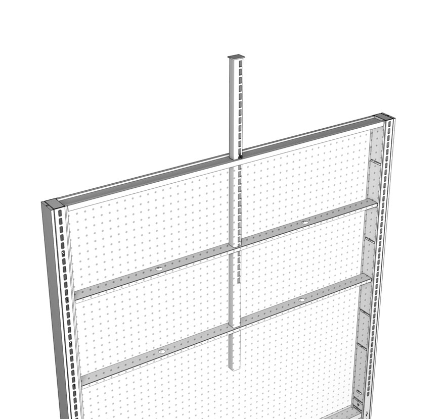Telescopic Uprite System Lozier Retail Shelving