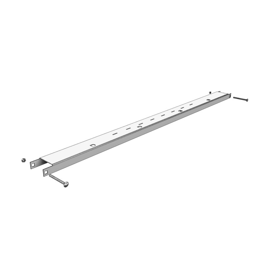 Versa Top Rail Lozier Retail Shelving