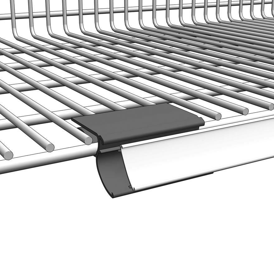 Amazing Retail Shelving Wire Basket Shelf Molding Holder Gallery2 Lozier