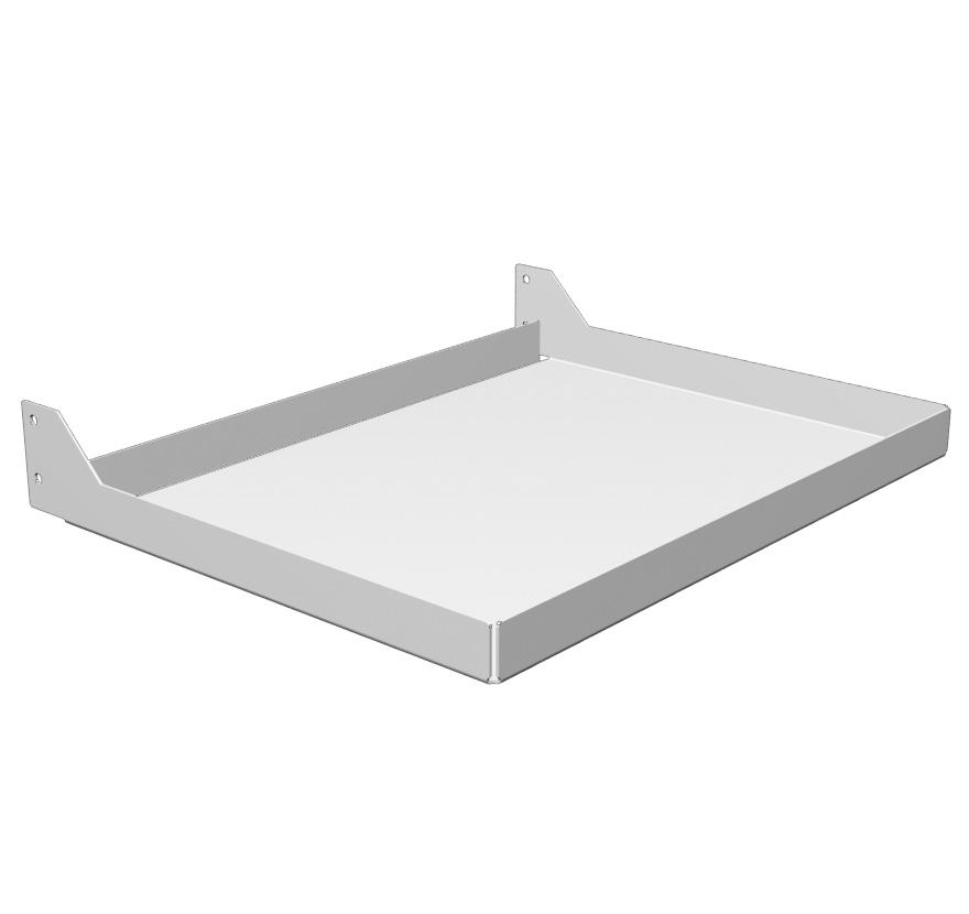 Freestanding Sanitizer Stand Shelf