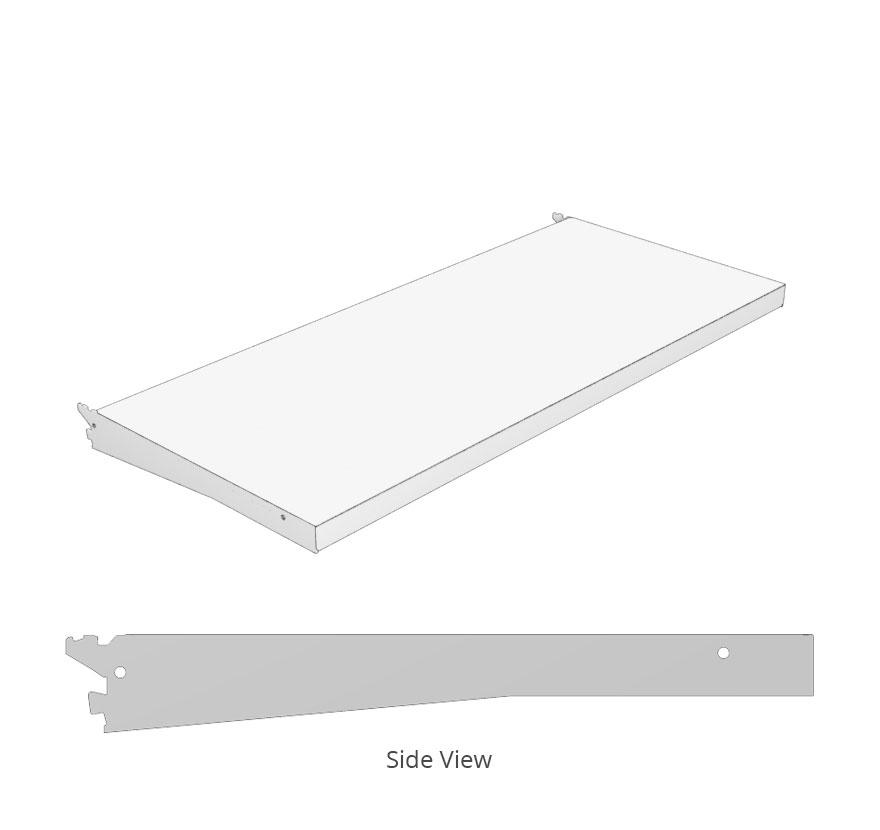 Square Nose Shelf