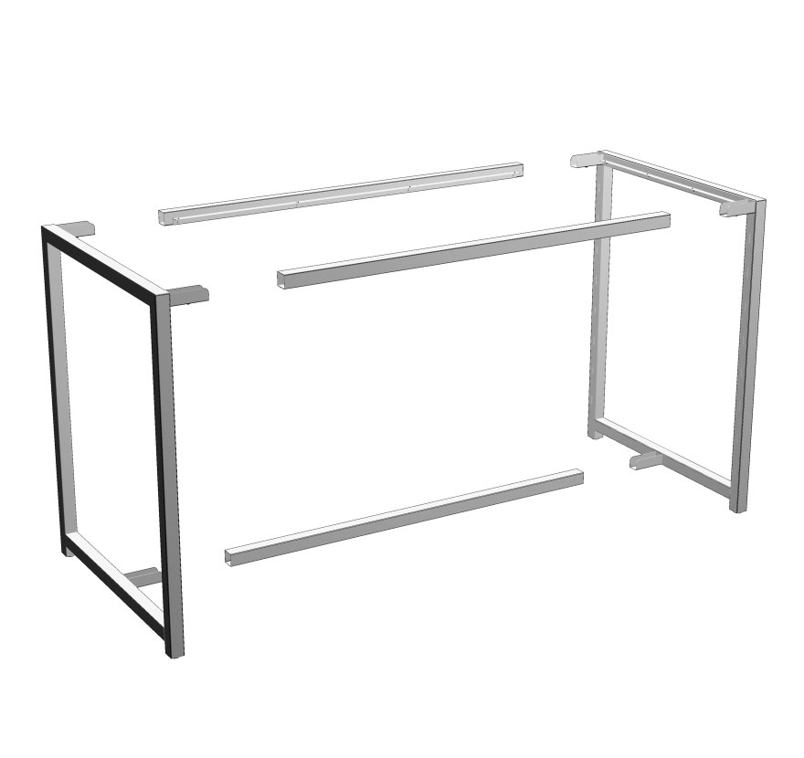 Tubular Table Frame
