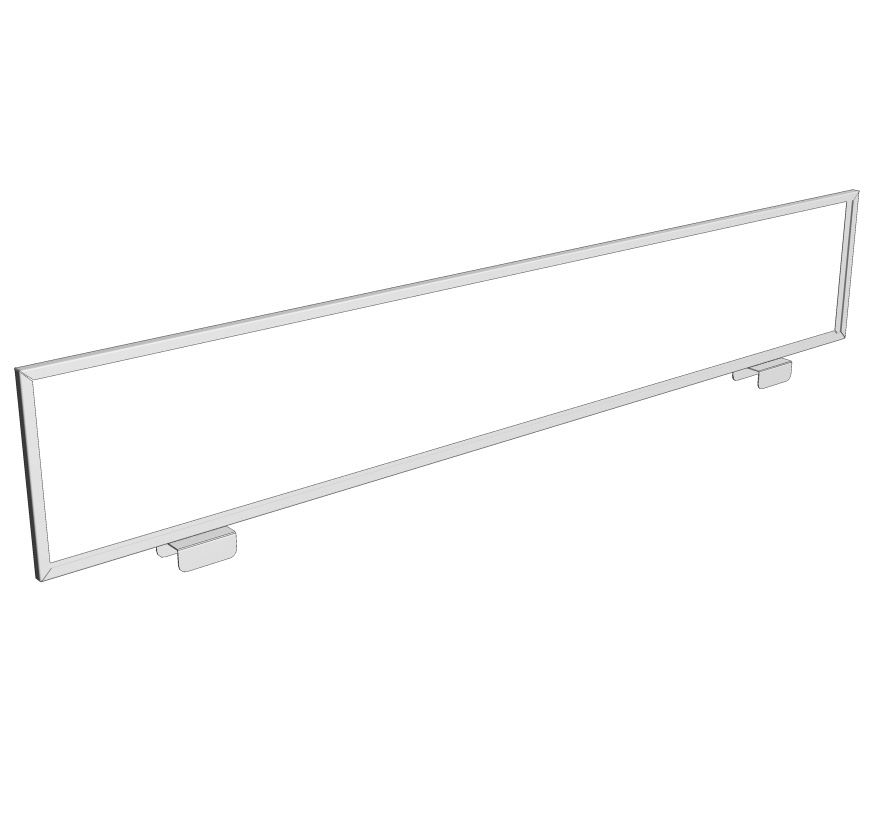 Tubular End Frame Horizontal Sign Holder