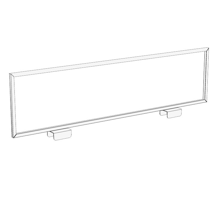 Modular Tubular Two-Way Horizontal Sign Holder