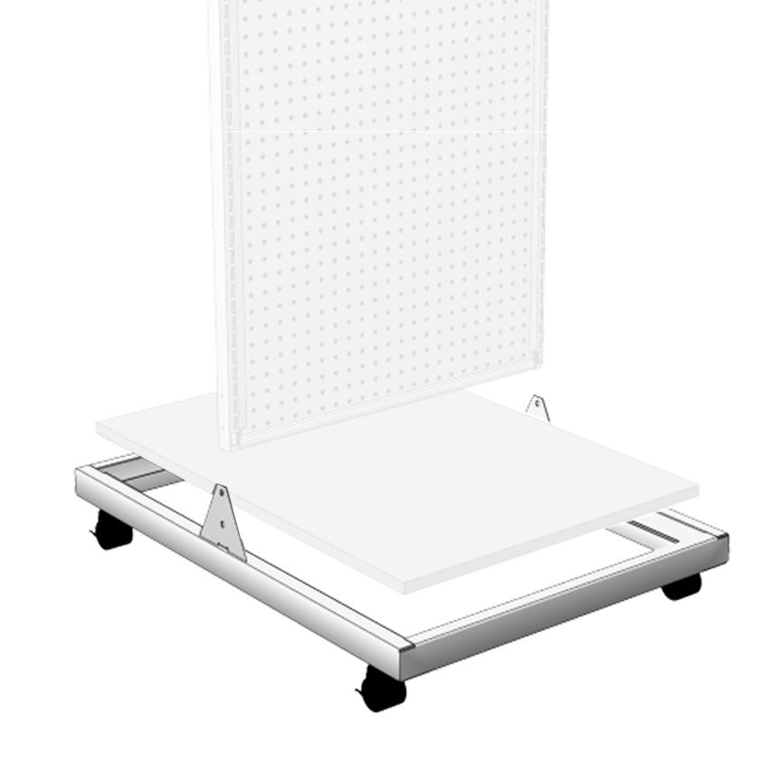 Two Way Merchandiser Deck Frame